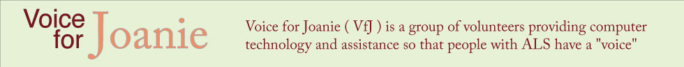 Voice For Joanie